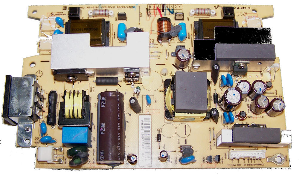 Lien Chang AIP-0105 PCB REV:K Monitor Power Supply and Inverter Board