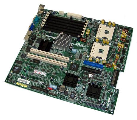 Asus PR-DLS533 Rev 2.02 Dual Socket 604 ATX Server Motherboard