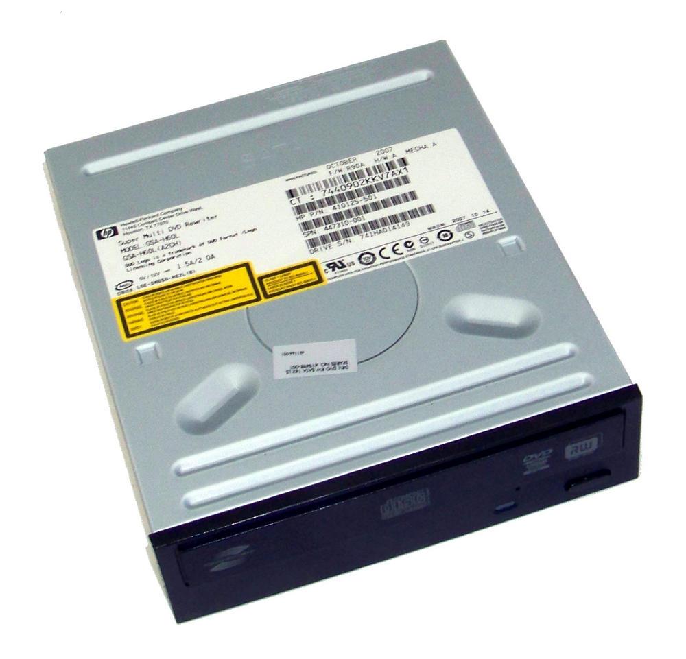HP 410125-501 Black Bezel SATA H/H DVD-RW D/L Drive GSA-H60L   SPS 419498-001