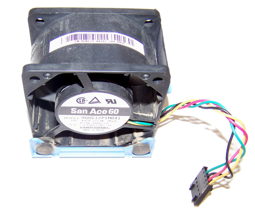 Dell U8679 OptiPlex GX620 DCTR 12VDC 0.35A 4-wire Fan | San Ace 60 9G0612P1M051
