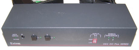 Extron 33-1445-01 A SW2 DVI A Series Switcher with PSU 100-240V 28-181-05LF Thumbnail 2