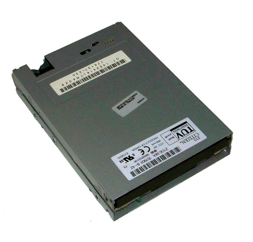 """HP 176137-230 xw6200 1.44MB 3.5"""" Floppy Drive Z1DE-58A   SPS 237180-001"""