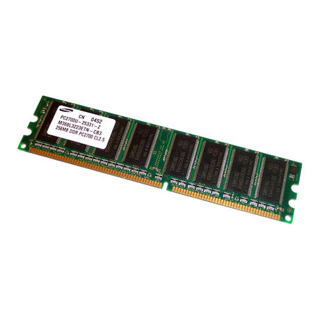 HP 305957-041 256MB PC2700 184-Pin DDR Desktop RAM | M368L3223ETN-CB3 Thumbnail 1
