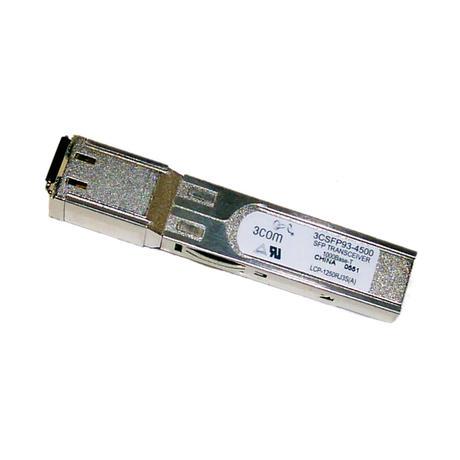 3Com 1000Base-T SFP Transceiver 3CSFP93-4500