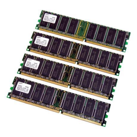Assorted 1GB Kit (4 x 256MB) PC2100 266MHz 184-Pin DDR Desktop RAM