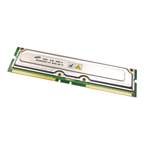 Samsung MR16R082GBN1-CK8 256MB PC800 184-Pin Workstation RDRAM
