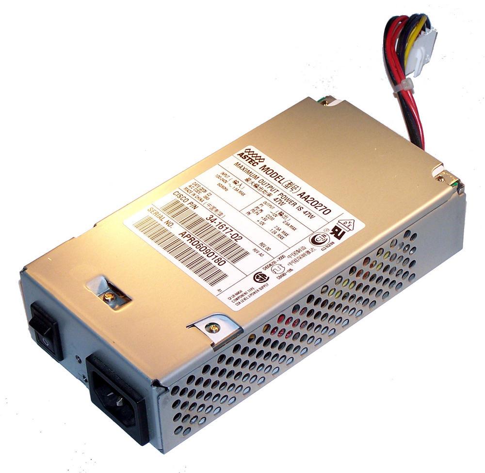 Cisco 34-1617-02 2600 PIX-515 47W AC Power Supply | Astec AA20270 PWR-2600-AC=
