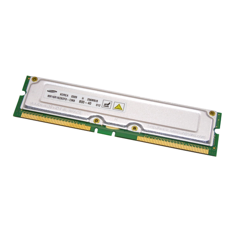 Samsung  MR16R1628DF0-CM8 256MB PC800 RDRAM