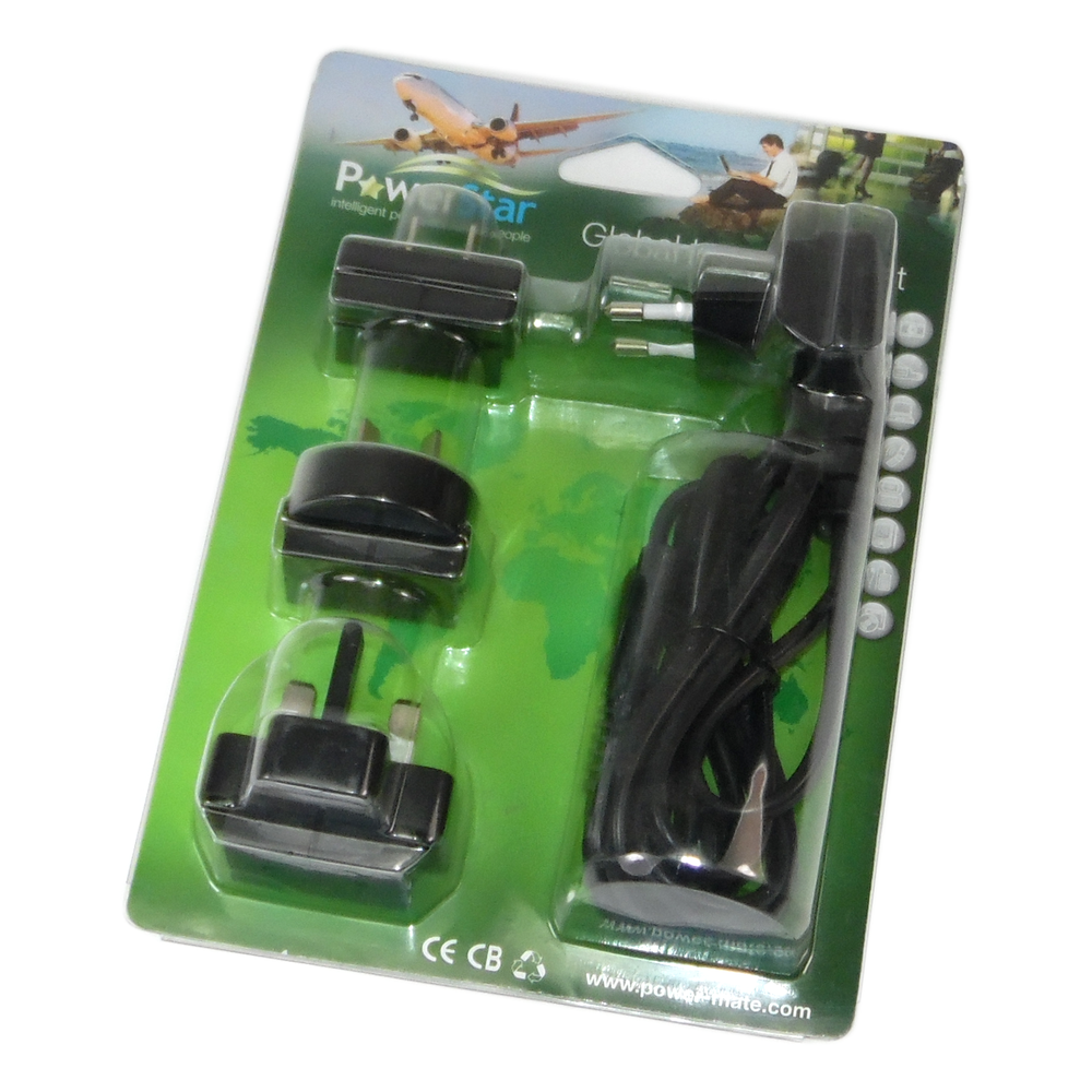 PowerStar 90CB80UU Global Travel Plug Set