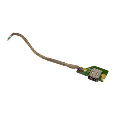 Dell Precision M6500 Firewire Port Board And Cable FPNHT Thumbnail 1