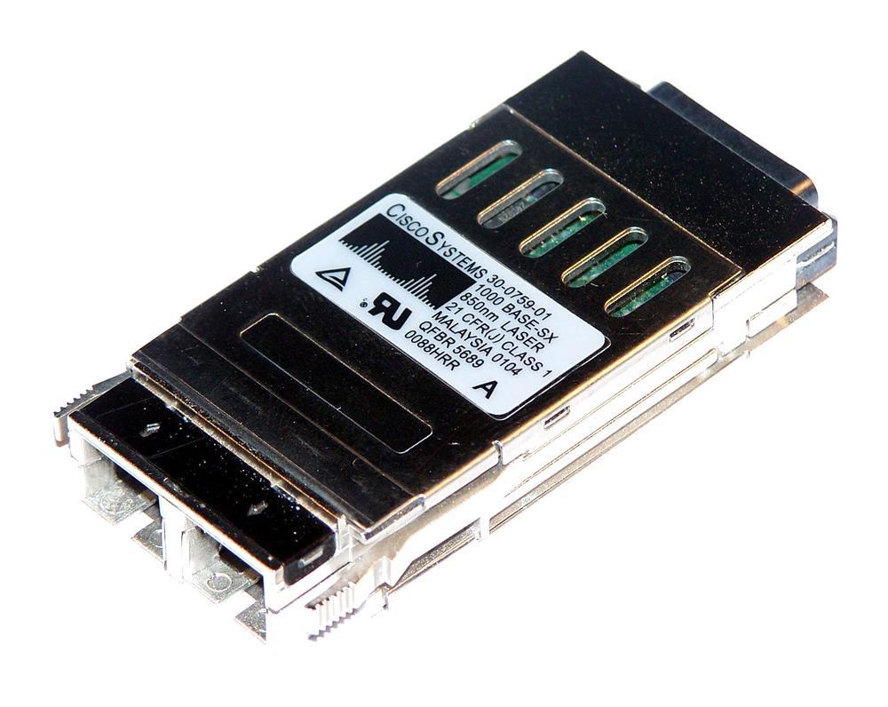 Cisco 30-0759-01 1000BASE-SX 850nm GBIC WS-G5484 Transceiver