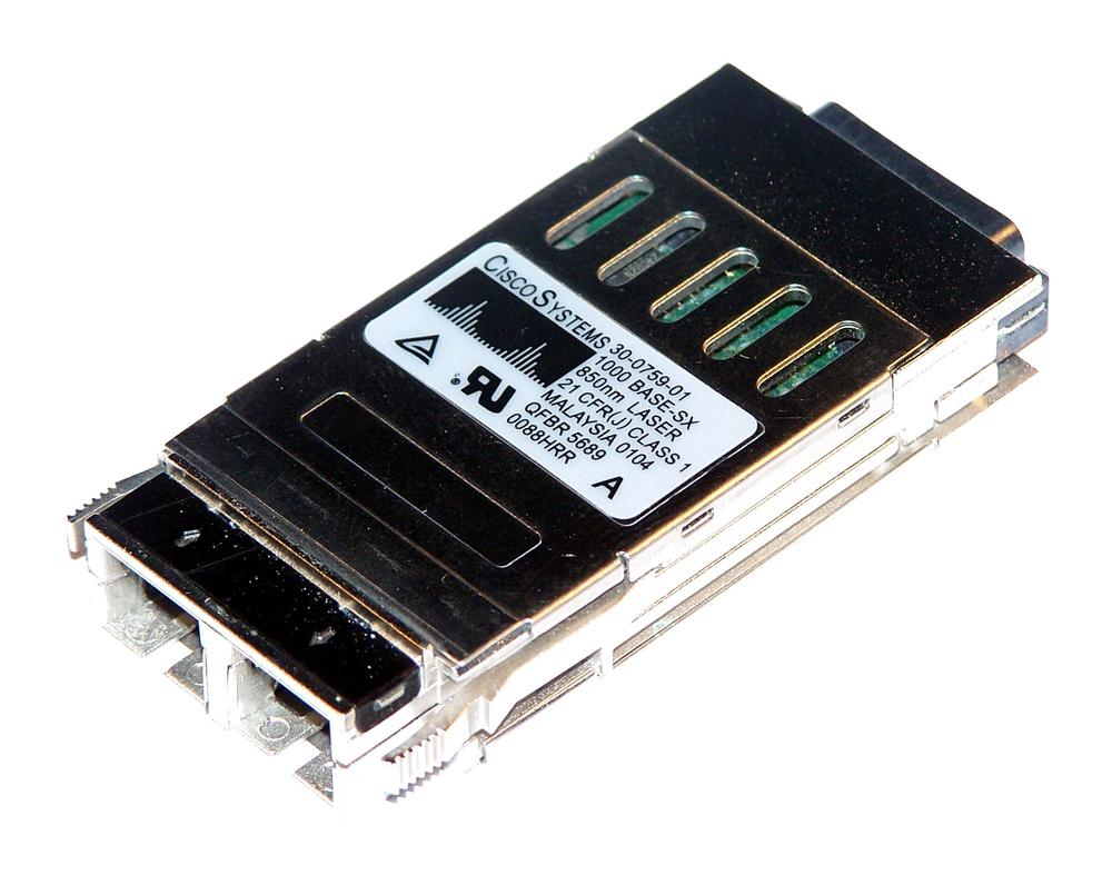 Cisco 30-0759-01 1000BASE-SX 850nm GBIC WS-G5484 Transceiver
