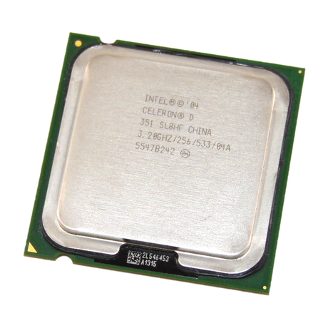 Intel Celeron D 351 3.2GHz 256KB 533MHz Socket 775 Processor SL8HF