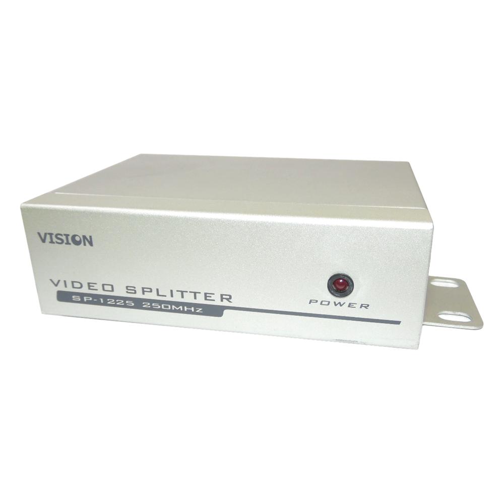 Vision SP-1225 Video Splitter 2-Port 250MHz