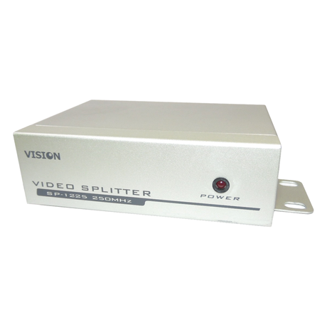 Vision SP-1225 Video Splitter 2-Port 250MHz