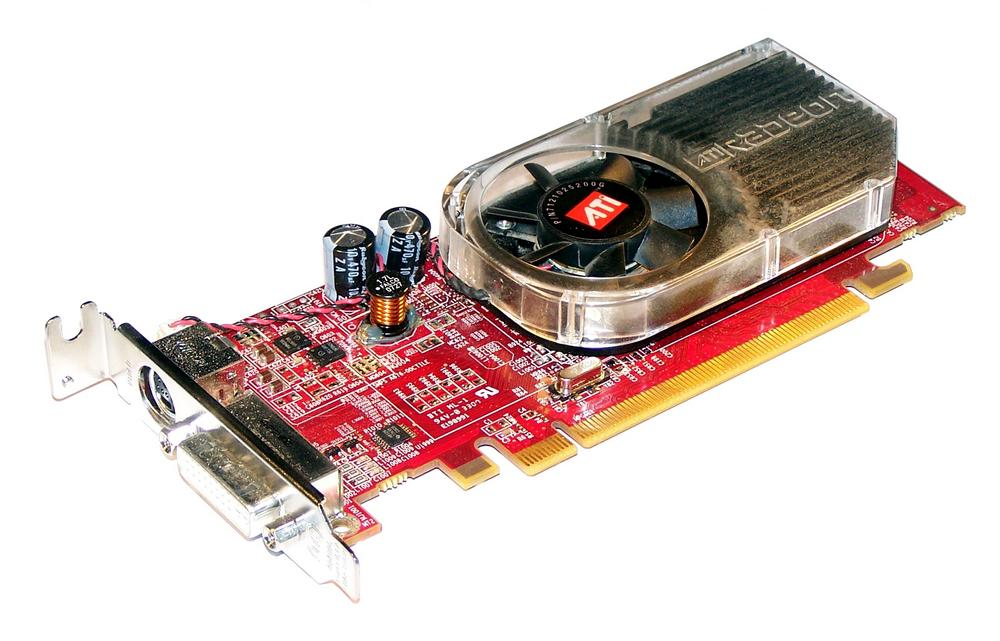 HP 410199-002 Radeon X1300 256MB PCIe Graphics Card, LP Bracket SPS 413023-001