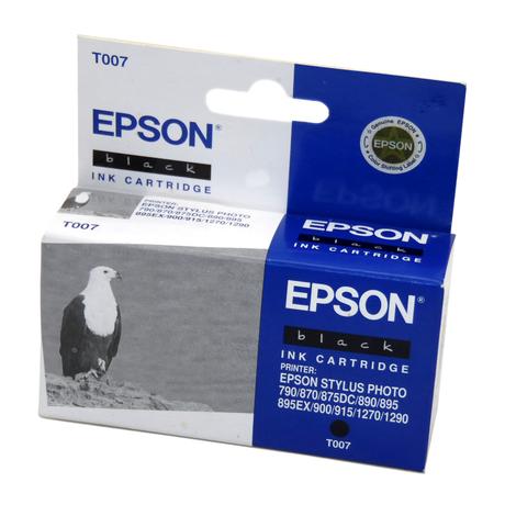 Genuine Epson T007 Black Ink Cartridge