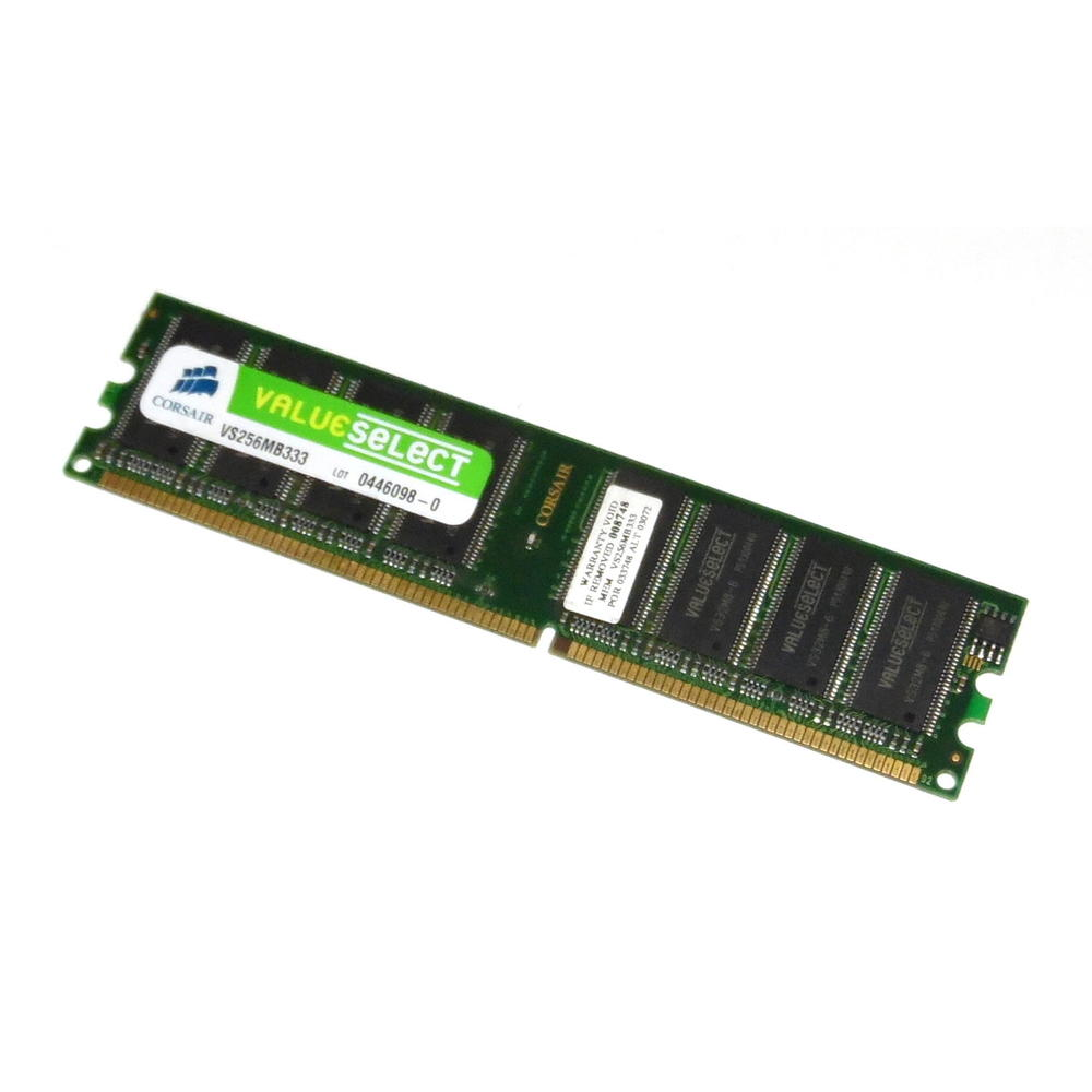Corsair VS256MB333 ValueSelect 256MB PC2700 333MHz 184-Pin Desktop RAM
