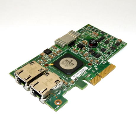 Dell Dual Port Ethernet RJ-45 Gigabit Network Adapter No Bracket F169G M15H0CHP Thumbnail 1