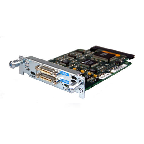 Cisco WIC-2T Dual-Port Serial Interface Card