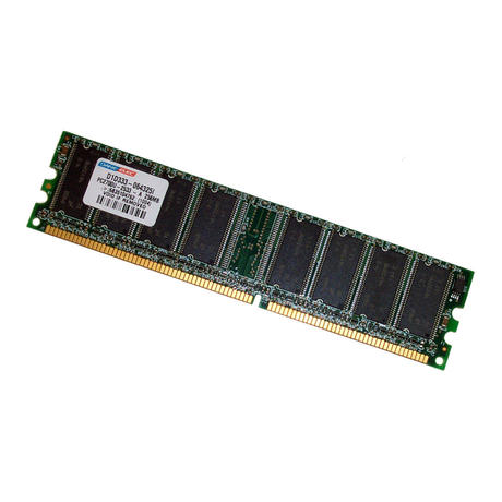 Dane-Elec D1D333-064325I 256MB PC2700 333MHz 184-Pin DDR Desktop RAM