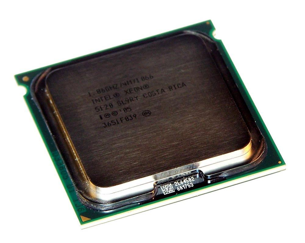 Intel HH80556KH0364M Xeon Dual Core 5120 1.86GHz Socket J LGA771 Processor SL9RY