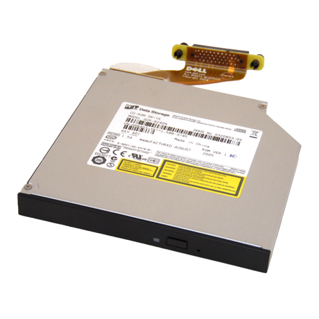 Dell P8403 PowerEdge 2800 CD-ROM Drive And Cable M4989 | GCR-8240N