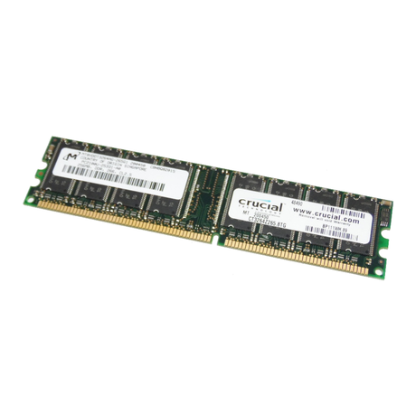 Micron MT8VDDT3264AG-265G1 256MB PC2100U 266MHz DDR Desktop RAM