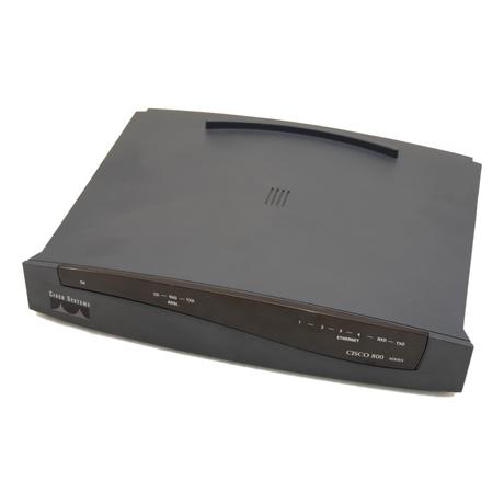 Cisco 837 4-Port ADSL Router No AC Adapter Cisco IOS 12.3(1.6)T