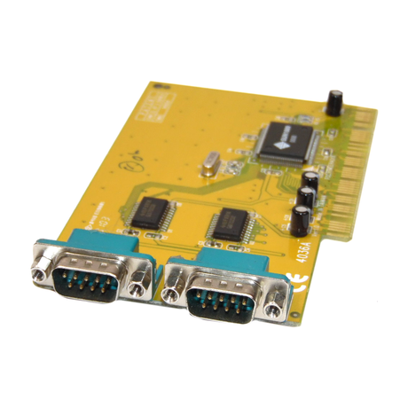 Sunix 4036A 2-Port PCI Serial Interface Card No Bracket