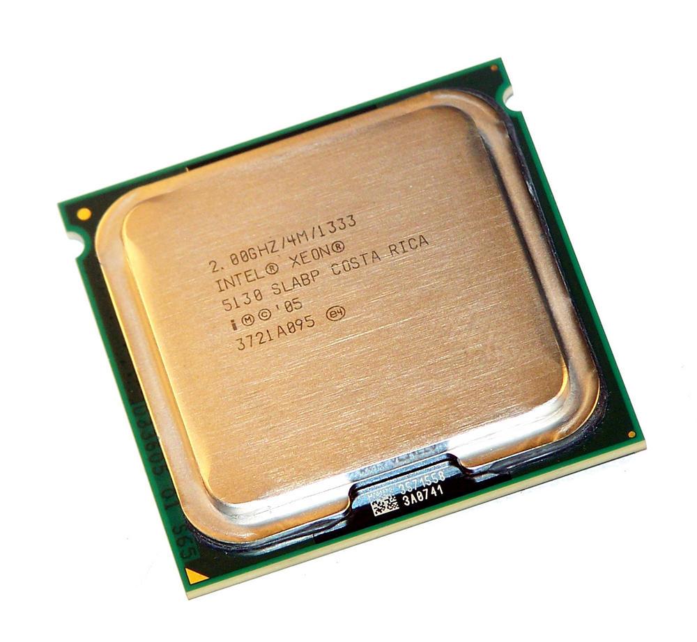 Intel HH80556KJ0414M Xeon Dual Core 5130 2.0GHz Socket J LGA771 Processor SLABP