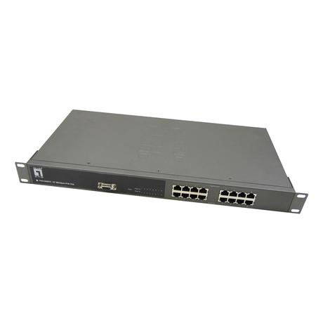 Level One 8-Port Midspan PoE Hub POH-0850TX