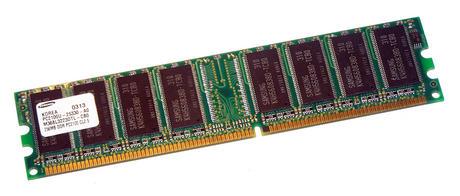 Samsung M368L3223DTL-CB0 (256MB DDR PC2100U 266MHz DIMM 184-pin) Memory Module Thumbnail 1