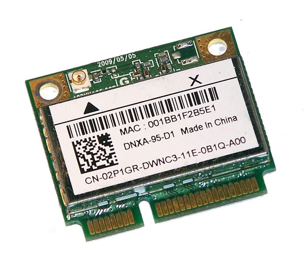 Dell 2P1GR WLAN Mini PCIexpress Card Atheros Draft-N 802.11a/b/g/n | 02P1GR