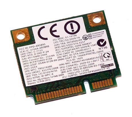 Dell 2P1GR WLAN Mini PCIexpress Card Atheros Draft-N 802.11a/b/g/n | 02P1GR Thumbnail 2