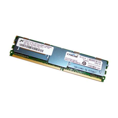 Crucial CT51272AF667.36FE1D4 4GB DDR2 PC2-5300F 667MHz FB-DIMM Memory Module