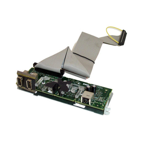 Dell OptiPlex 210L Front USB Audio and Power Button Board With Cable RC278 Thumbnail 1