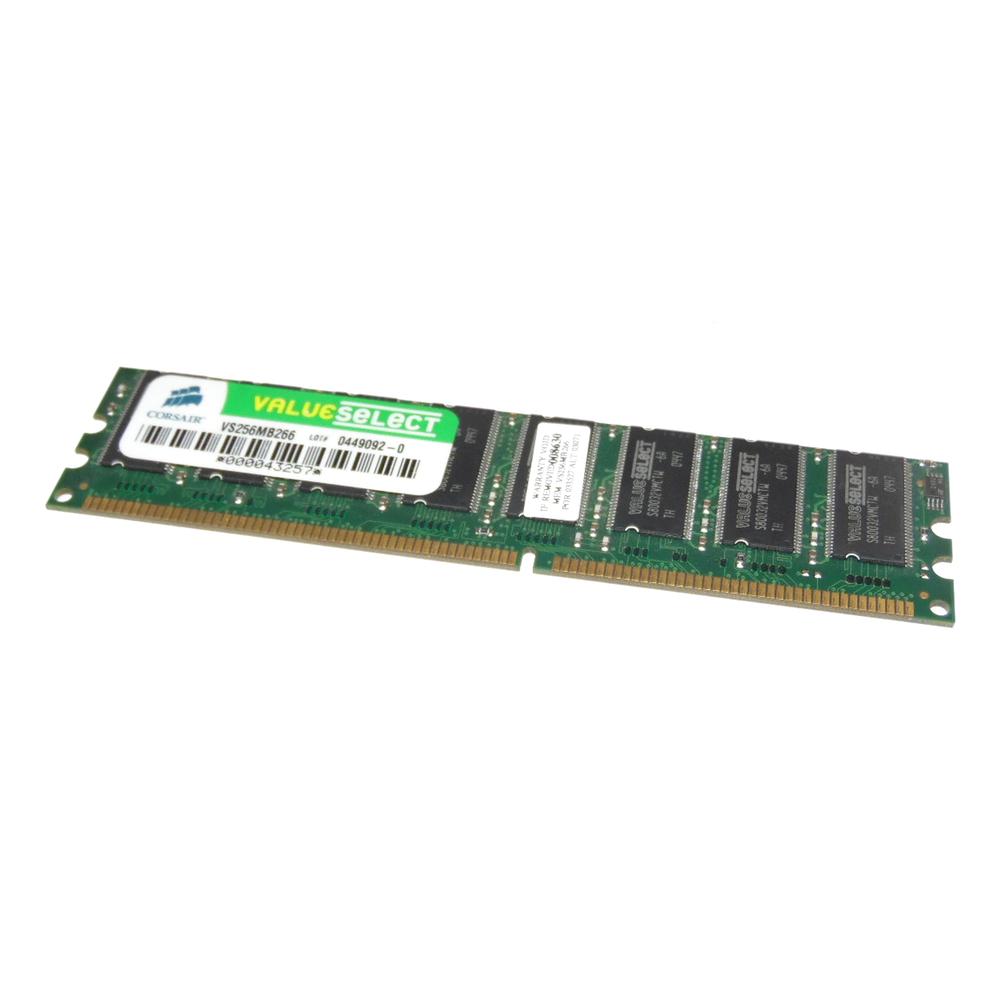 Corsair VS256MB266 256MB PC2100 266MHz 184-Pin DDR Desktop RAM