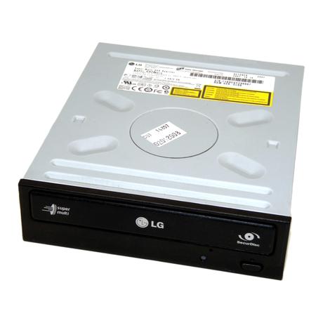 HL Data GH20NS10 Super Multi DVD Rewriter SATA DVD±RW DL H/H Drive | Black Bezel Thumbnail 1