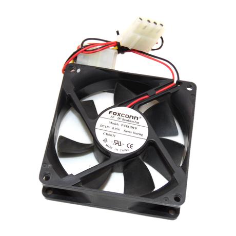 Foxconn 12V 80mm Case Fan PV883DF0 Thumbnail 1
