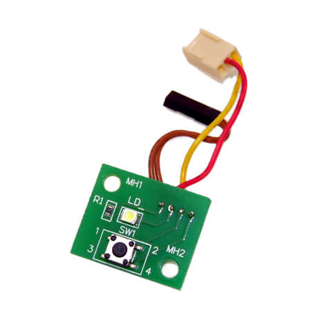 VXL 121000119278 Itona TC4341 Thin Client Power Button Board