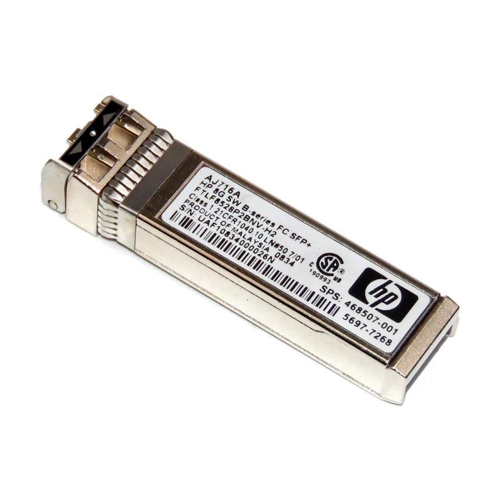 HP 5697-7268 AJ716A 8G SW FC SFP+ Fibre Optical Transceiver | 468507-001