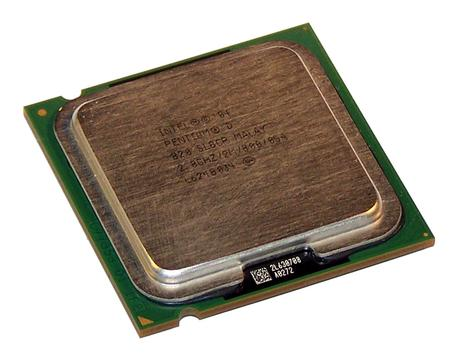 Intel HH80551PG0722MN 2.8GHz Pentium D 820 Socket T LGA775 Processor SL8CP