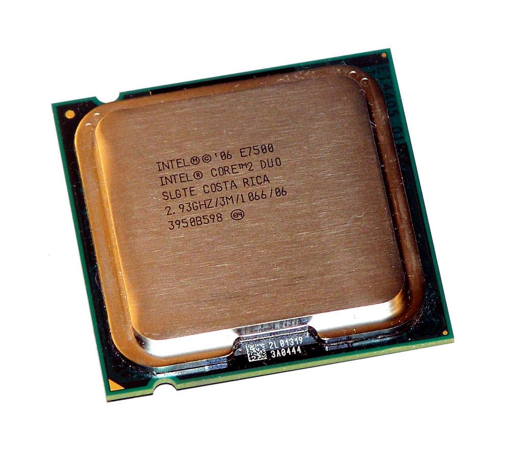 Intel AT80571PH0773ML Core 2 Duo E7500 2.93GHz Socket T LGA775 Processor SLGTE