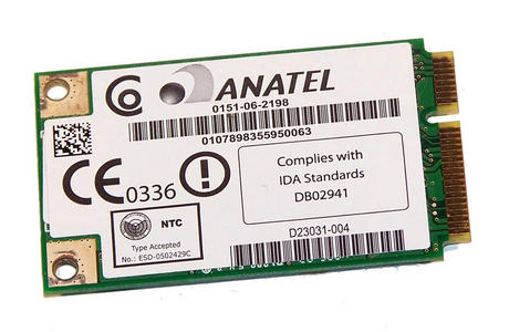 Intel D23031-004 54Mbps 802.11a/b/g WiFi WLAN Mini PCIexpress Card | WM3945ABG Thumbnail 2