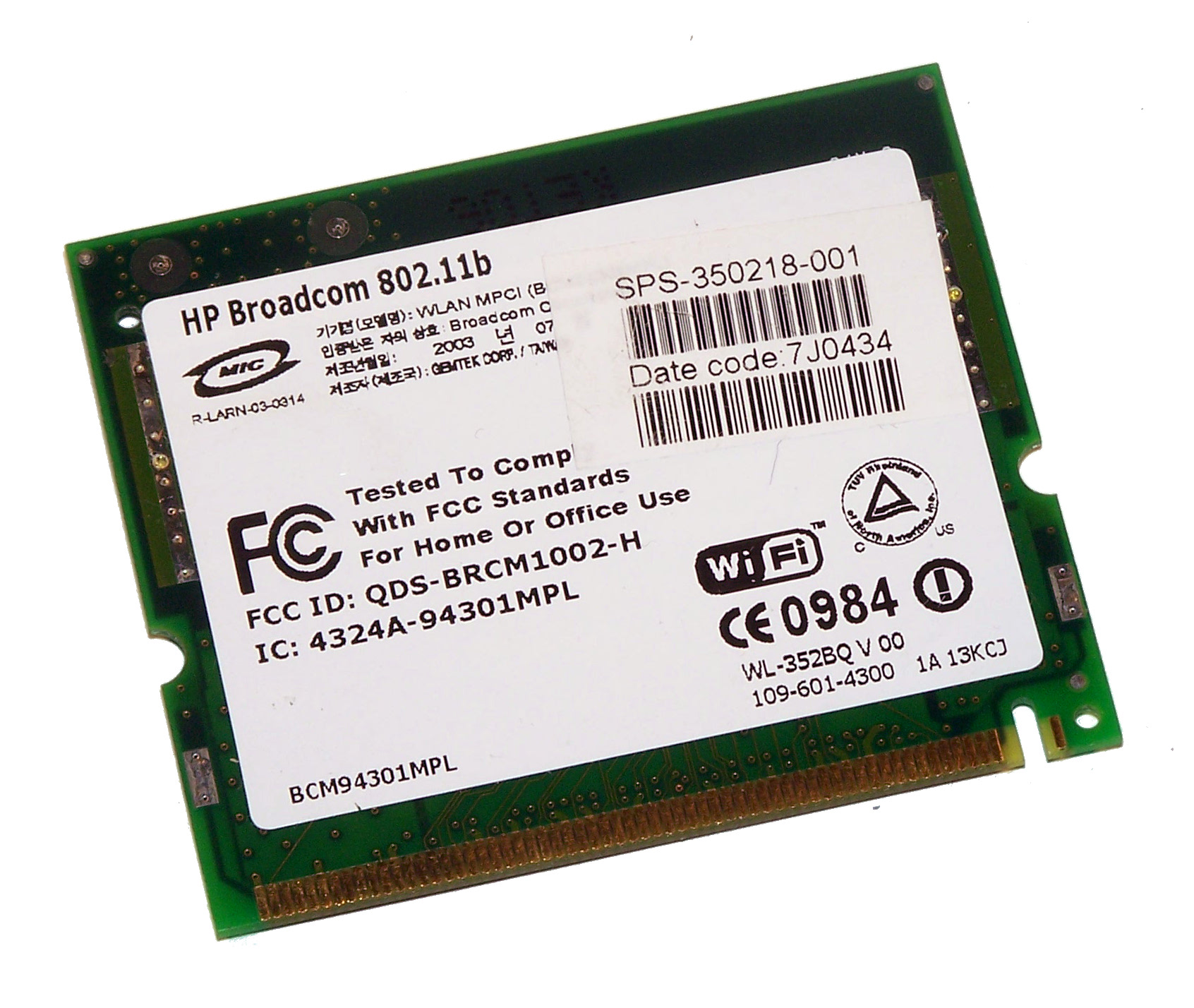 BCM94301MPL DRIVERS FOR WINDOWS XP