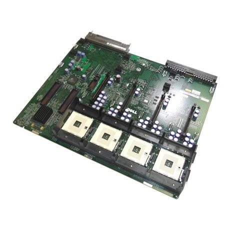 Dell J8870 PowerEdge 6600 6650 Quad Socket 603 Motherboard | 0J8870