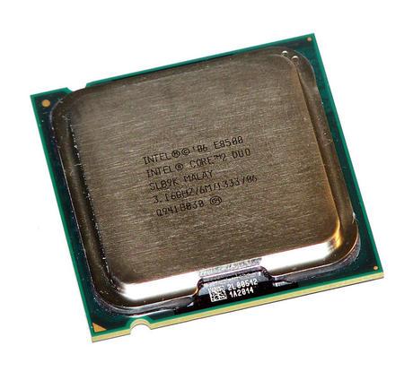 Intel AT80570PJ0876M Core 2 Duo E8500 3.16GHz Socket T LGA775 Processor SLB9K