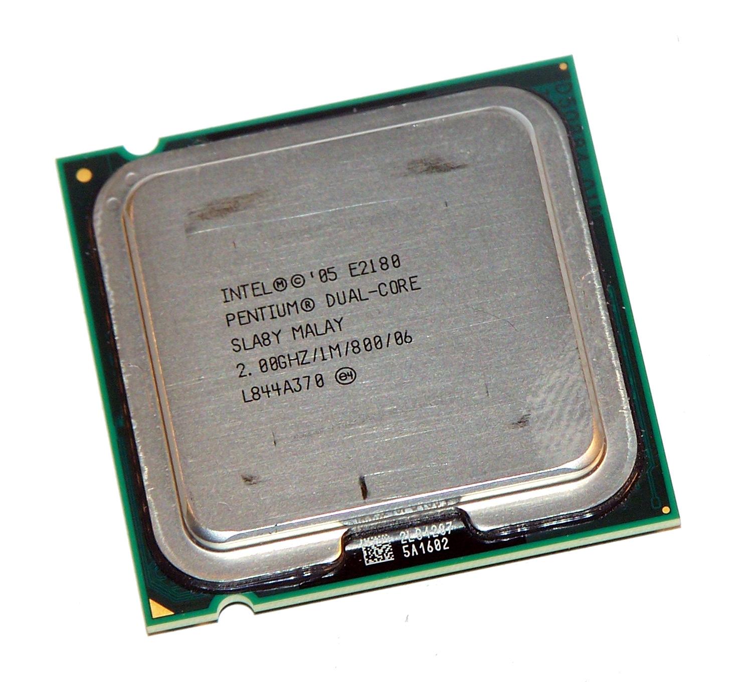 Intel Pentium Dual Core E2180 2.0GHz SLA8Y 800FSB 1MB Cache 775 Processor