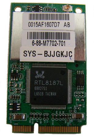 Viglen 6-88-M7702-701 AzureWave AW-GU700 WLAN Mini PCIexpress Card 802.11a/b/g